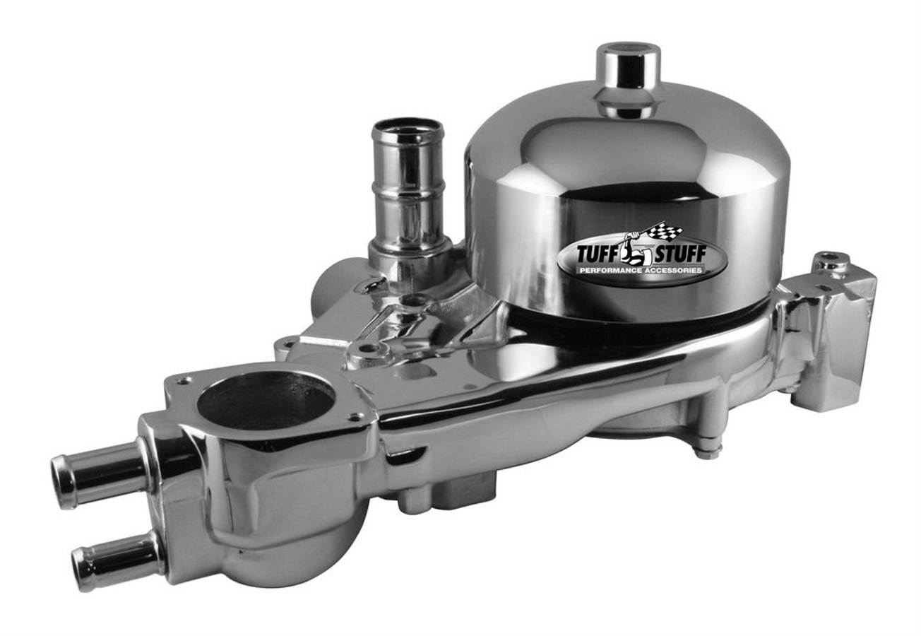 GM LS1 Water Pump Polished Aluminum