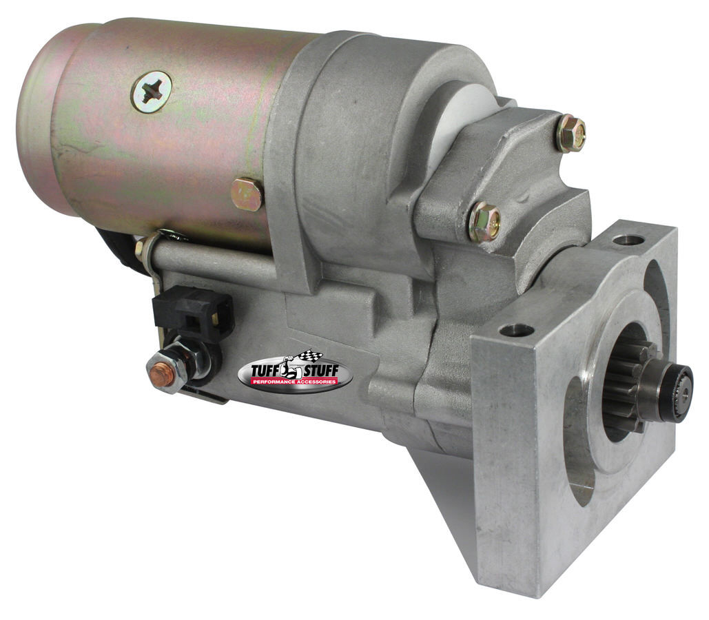 Tuff-Stuff 13186 Starter, Adjustable Mounting Block, Gear Reduction, Zinc, Oldsmobile / Pontiac V8, Each