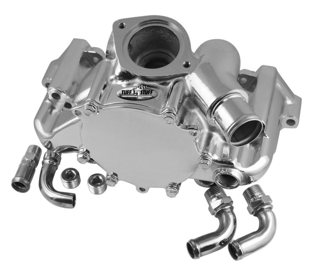 GM LT1 Water Pump Polished Aluminum