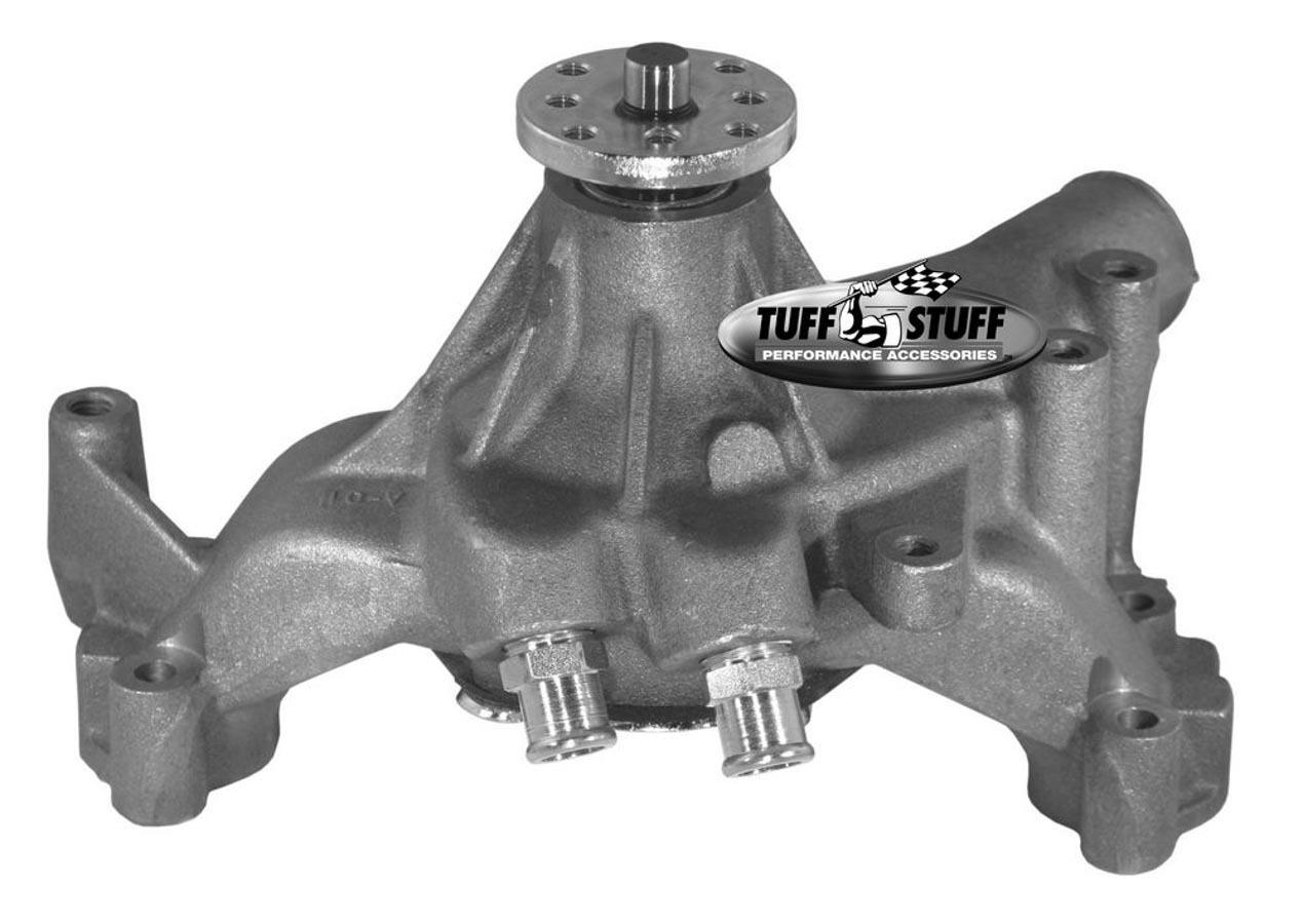 Tuff-Stuff 1461N Water Pump, Mechanical, SuperCool, High Volume, Long Design, Iron, Natural, Big Block Chevy, Each