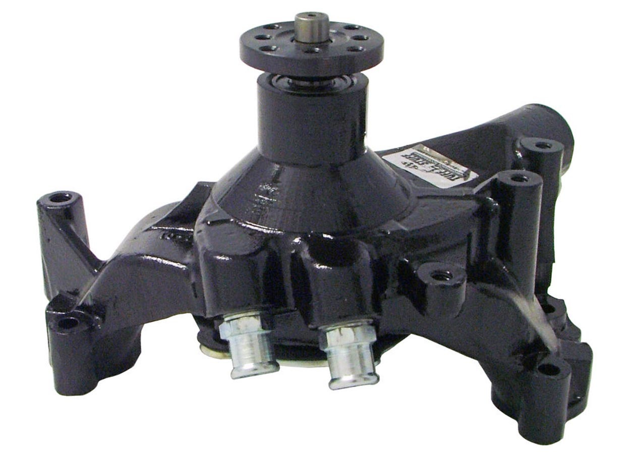 Tuff-Stuff 1461NC Water Pump, Mechanical, SuperCool, High Volume, Long Design, Iron, Black Powder Coat, Big Block Chevy, Each
