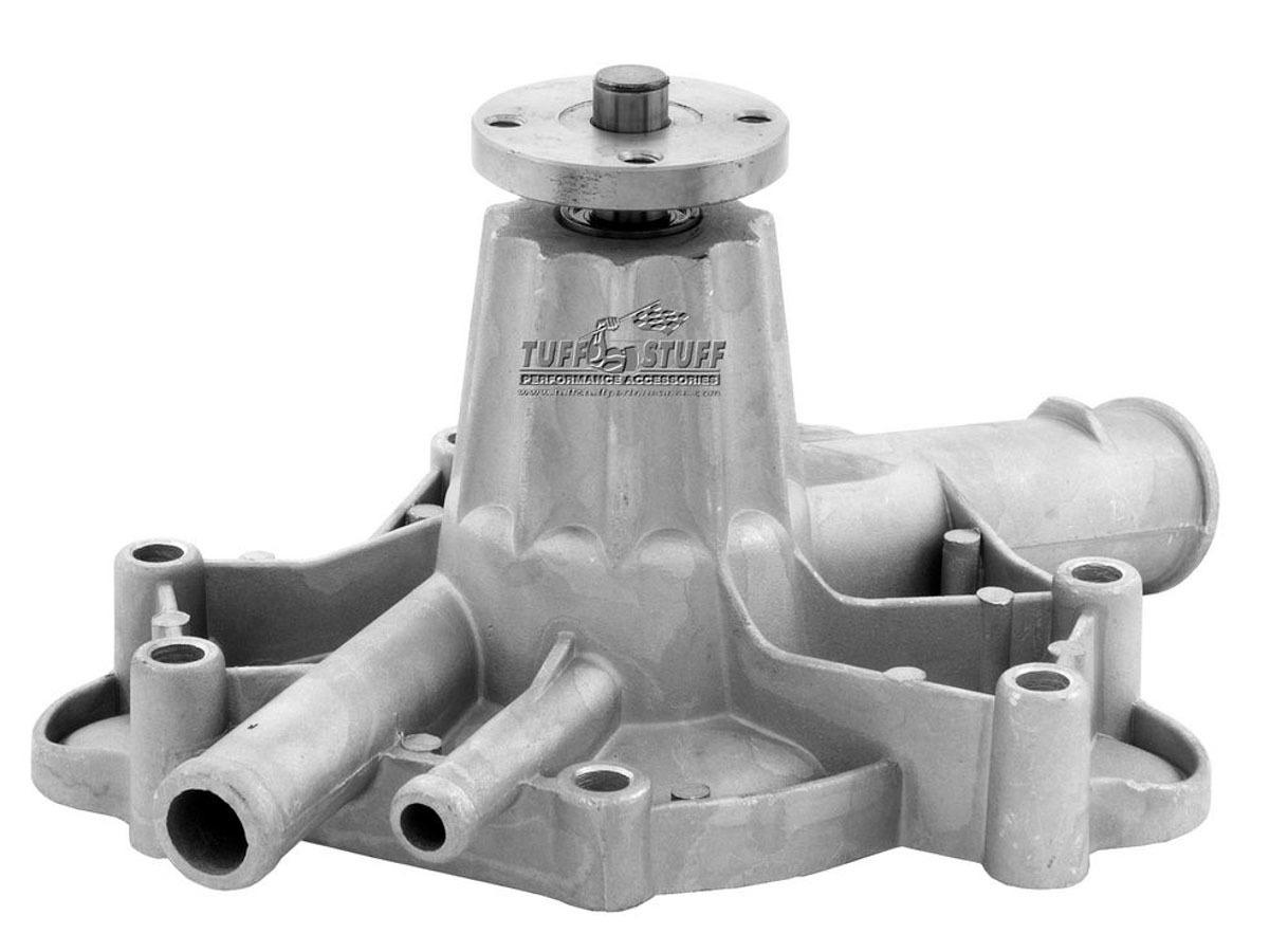 Tuff-Stuff 1465NA Water Pump, Mechanical, SuperCool, High Volume, Aluminum, Natural, Small Block Mopar, Each