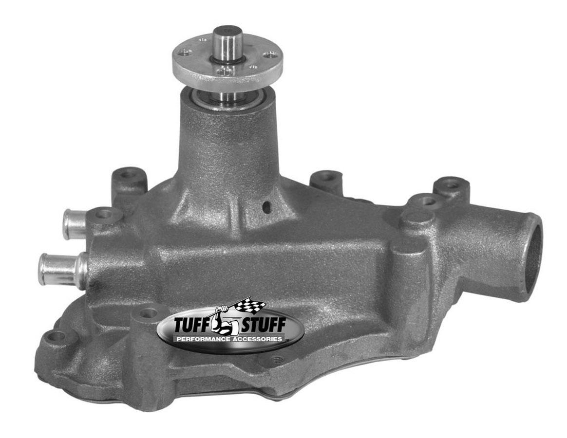 Tuff-Stuff 1468N Water Pump, Mechanical, SuperCool, High Volume, Iron, Natural, Small Block Ford, Each