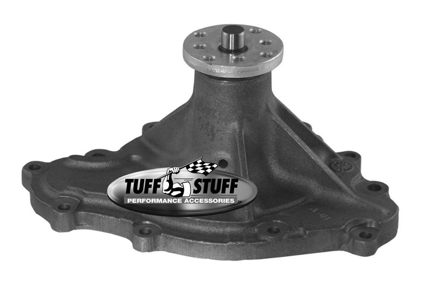 Tuff-Stuff 1475N Water Pump, Mechanical, Iron, Natural, Pontiac V8, Each