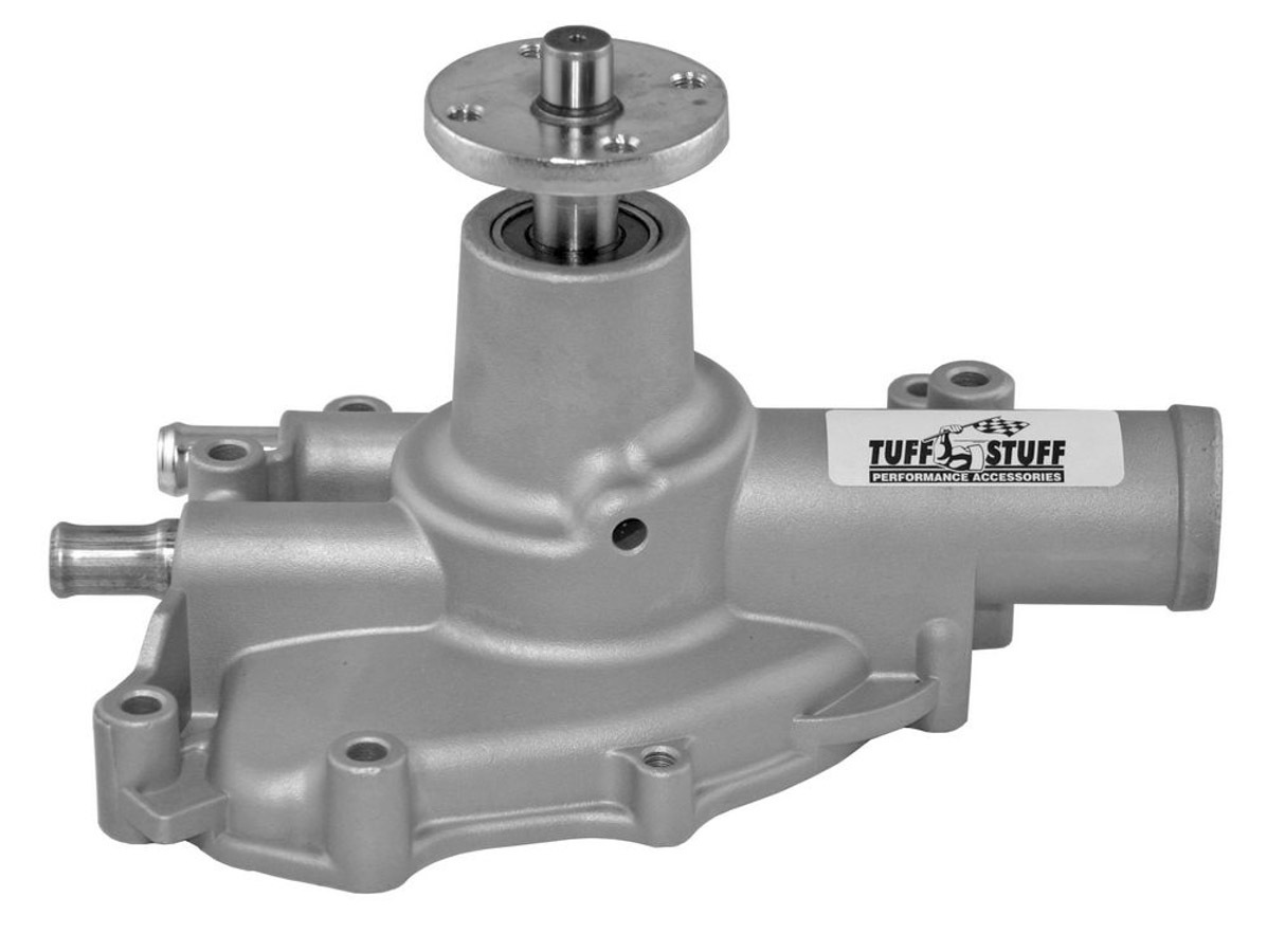 Tuff-Stuff 1594AC Water Pump, Mechanical, Platinum Series, High Volume, Reverse Rotation, Aluminum, Natural, Small Block Ford, Each