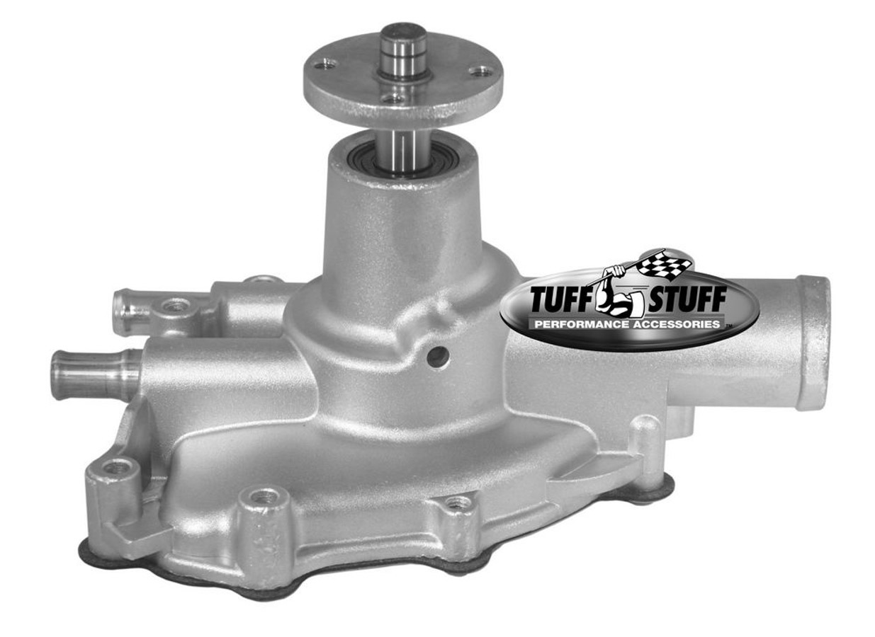 Tuff-Stuff 1594N Water Pump, Mechanical, SuperCool, High Volume, Reverse Rotation, Aluminum, Natural, Small Block Ford, Each