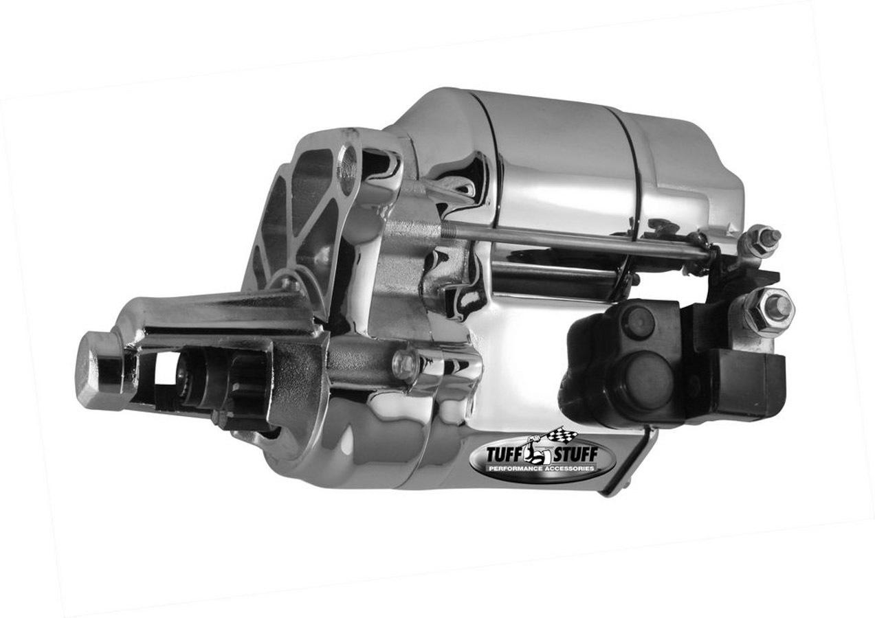 Tuff-Stuff 6084A Starter, Denso Style, Gear Reduction, Chrome, Small Block Mopar / B / RB-Series, Each
