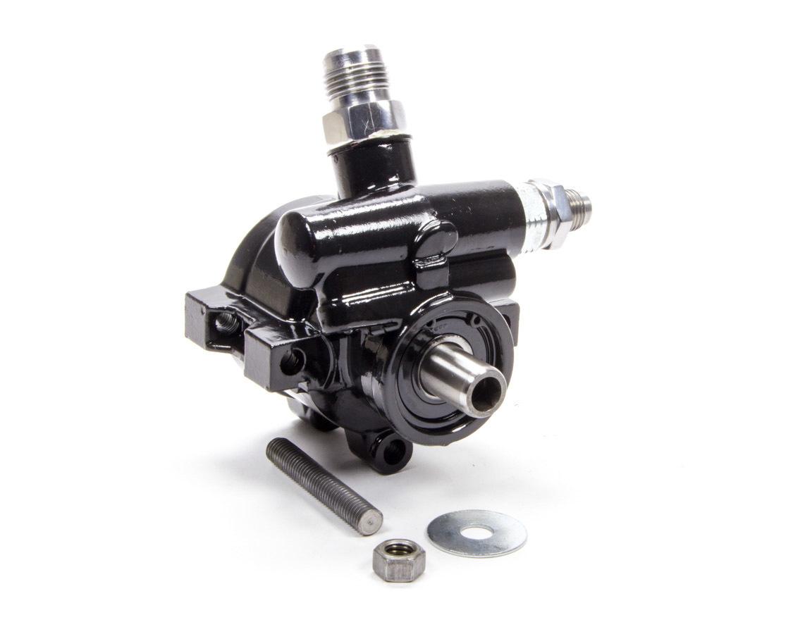 Tuff-Stuff 6170ALB Power Steering Pump, GM Type 2, 3 gpm, 1200 psi, Aluminum, Black Paint, Universal, Each