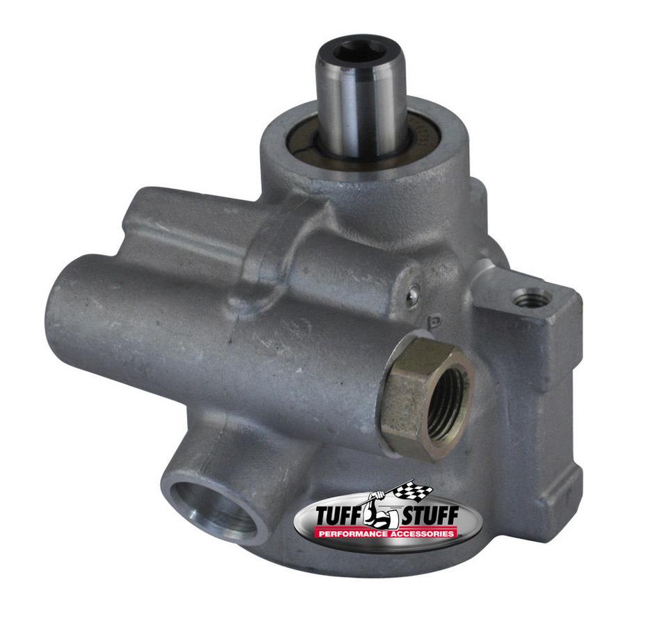 Tuff-Stuff 6175AL-6 Power Steering Pump, GM Type 2, 3 gpm, 1200 psi, Aluminum, Natural, Universal, Each