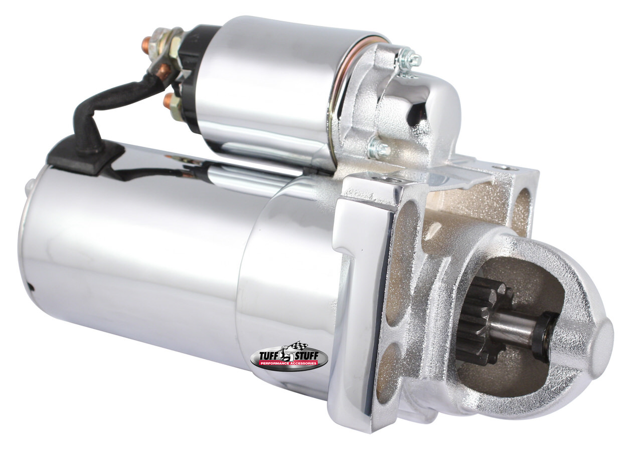 Tuff-Stuff 6492A Starter, OE Style, Gear Reduction, Chrome, 153 / 168 Tooth Flywheel, GM LS-Series, Each