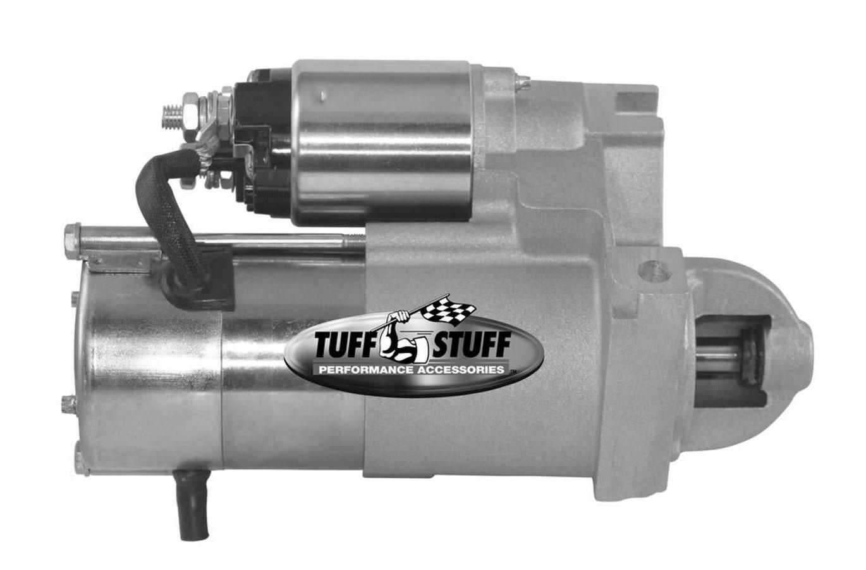 Tuff-Stuff 6631NB Starter, Mini Starter, 4.40:1 Gear Reduction, Zinc Plated, Chevy V6 / V8, Each