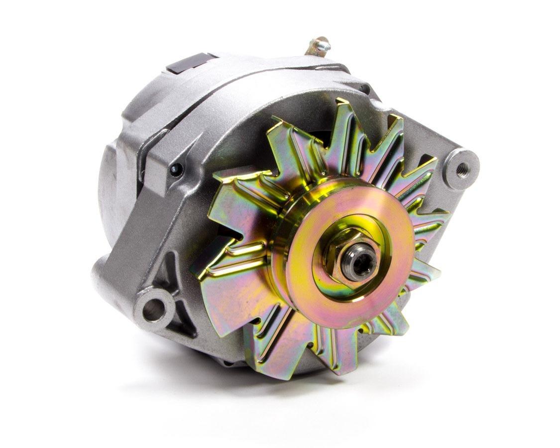 Tuff-Stuff 7127D Alternator, 100 amp, 12V, OEM / 1-Wire, Single V-Belt Pulley, Natural, GM, Each