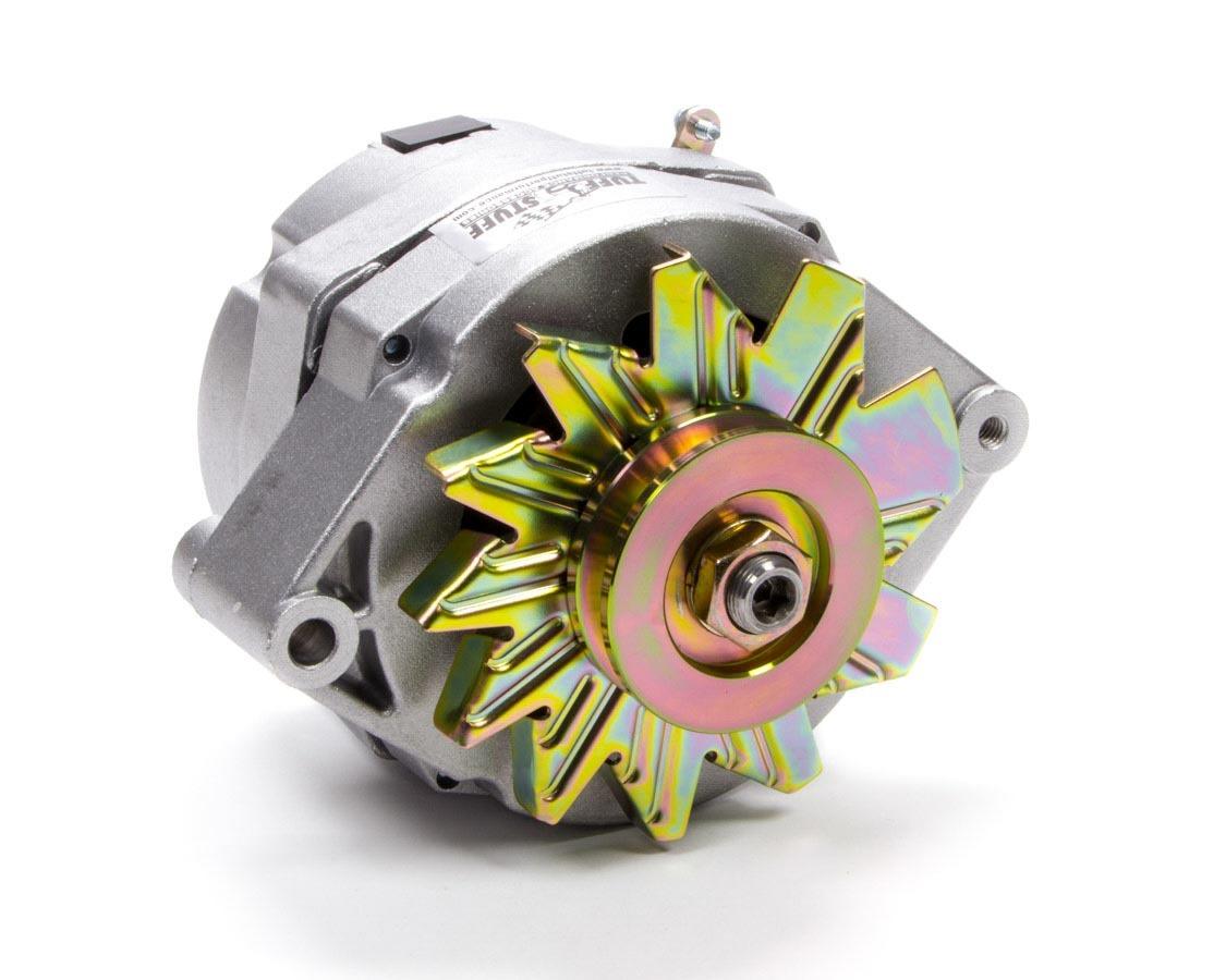 Tuff-Stuff 7127K Alternator, 140 amp, 12V, OEM / 1-Wire, V-Belt Pulley, Natural, GM, Each