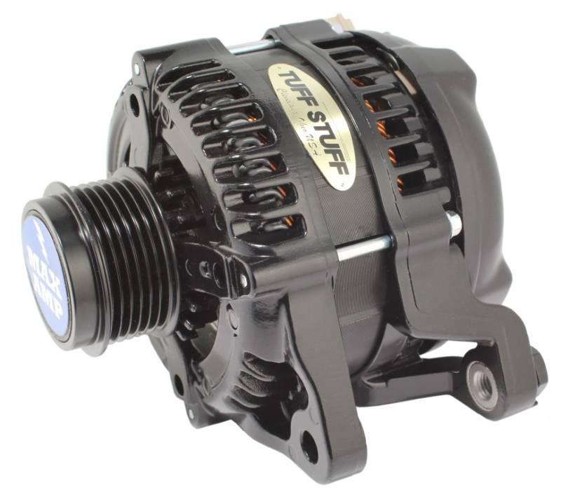 11-   Mustang Alternator 250 Amp 6 Groove Black