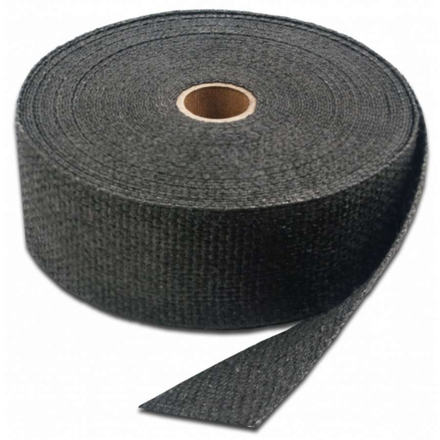 2in x 100' Black Header Wrap