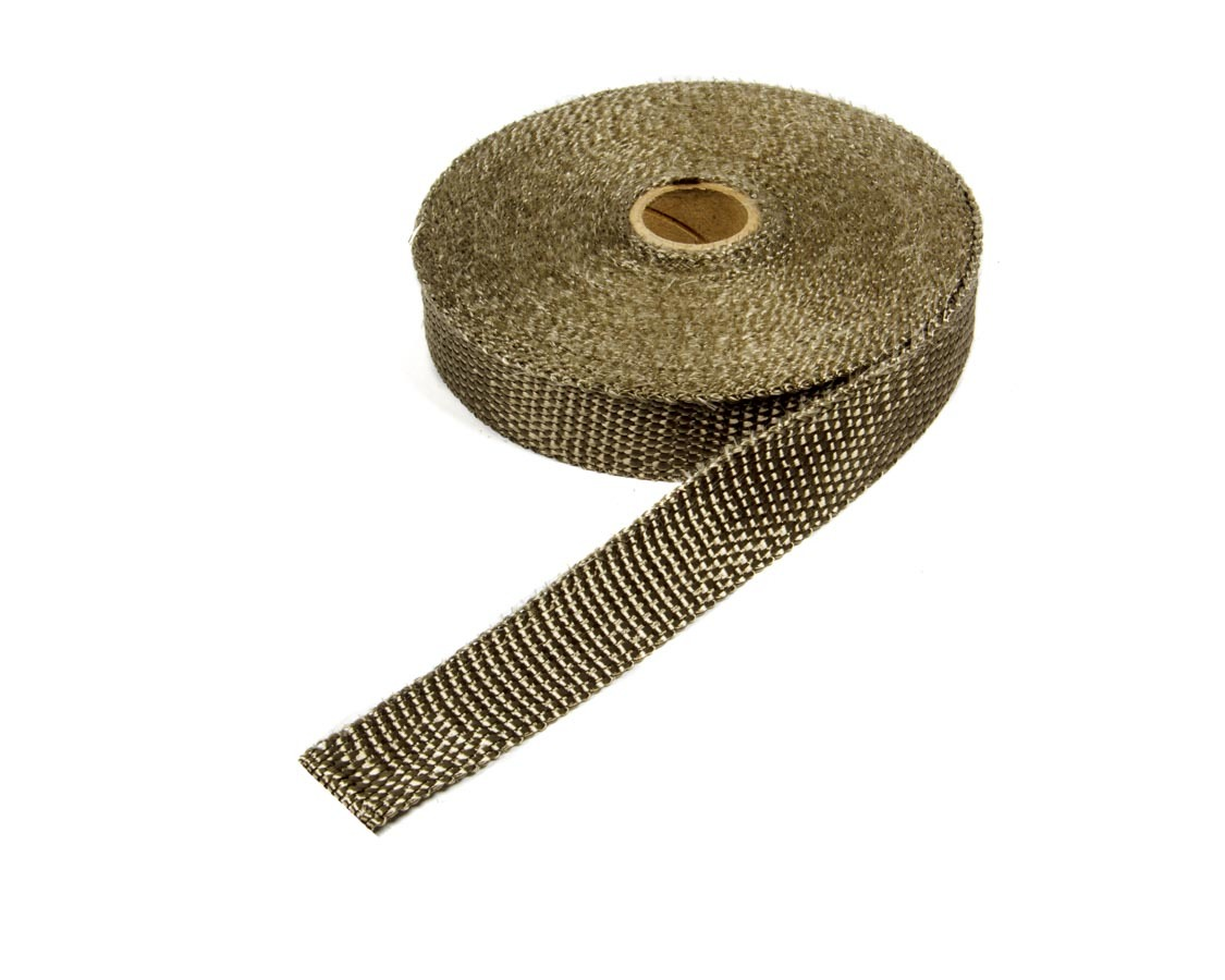 Thermo Tec 11041 Exhaust Wrap, 1 in Wide, 50 ft Roll, Woven Fiberglass, Carbon Fiber Look, Each