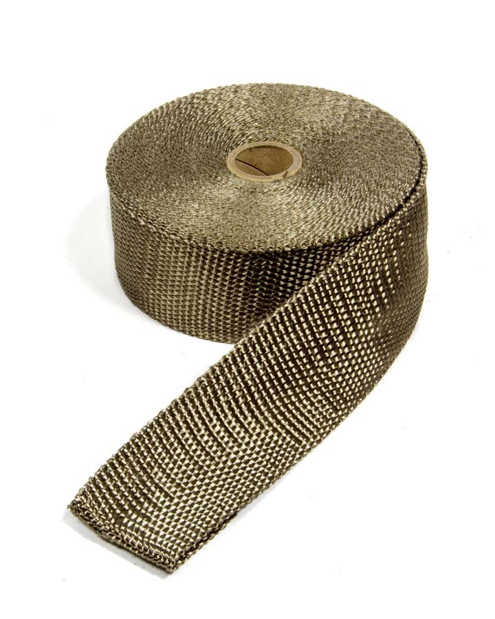 Thermo Tec 11042 Exhaust Wrap, 2 in Wide, 50 ft Roll, Woven Fiberglass, Carbon Fiber Look, Each