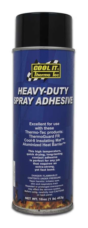 Thermo Tec 12005 Spray Adhesive, Hi-Temp, 16.00 oz Aerosol, Each