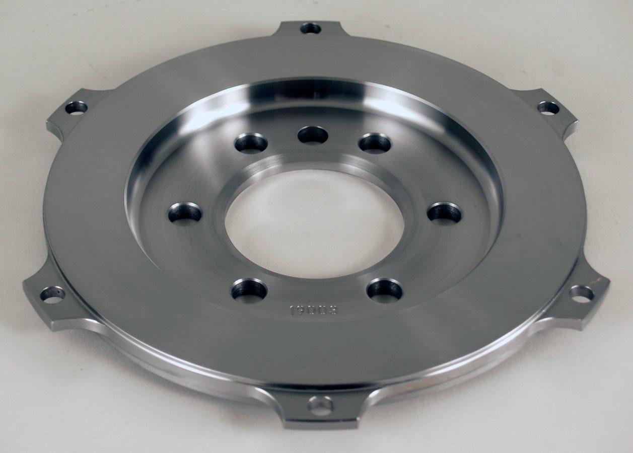 Tilton 19003 Flywheel, Button Style, 3.6 lb, Steel, Tilton 7.25 in Clutches, Internal Balance, 2 Piece Seal, Chevy V8, Each