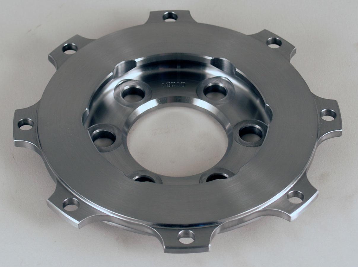 Tilton 19010 Flywheel, Button Style, 2.5 lb, Steel, Tilton 5.5 in Clutches, Internal Balance, 1 Piece Seal, Chevy V8, Each