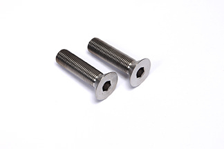 Front Caliper Bolts 2pcs Titanium Tapered Heads