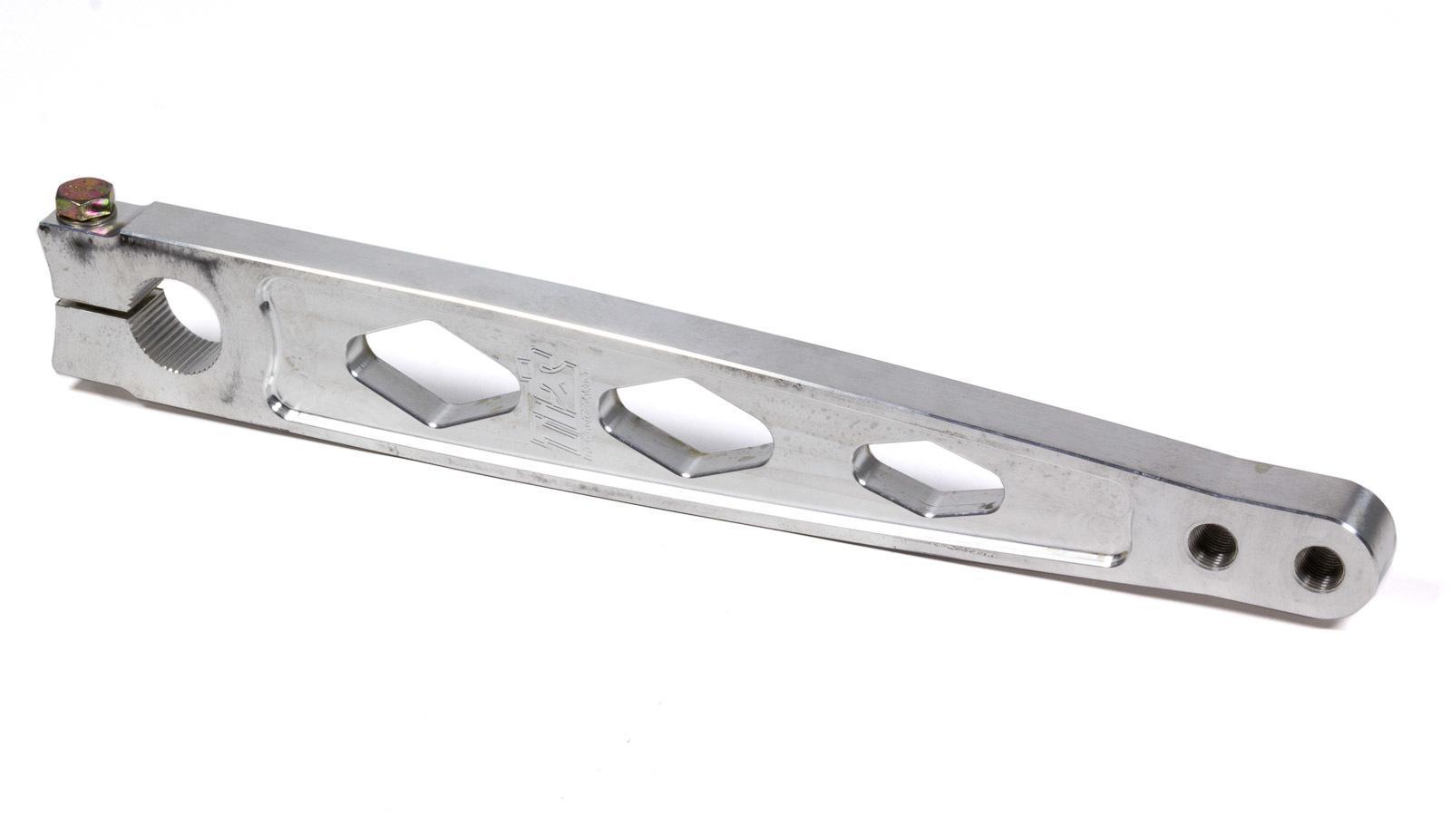 Ti22 Performance 3045 Pitman Arm, Straight Broach, Aluminum, Natural, Sprint Car, Each