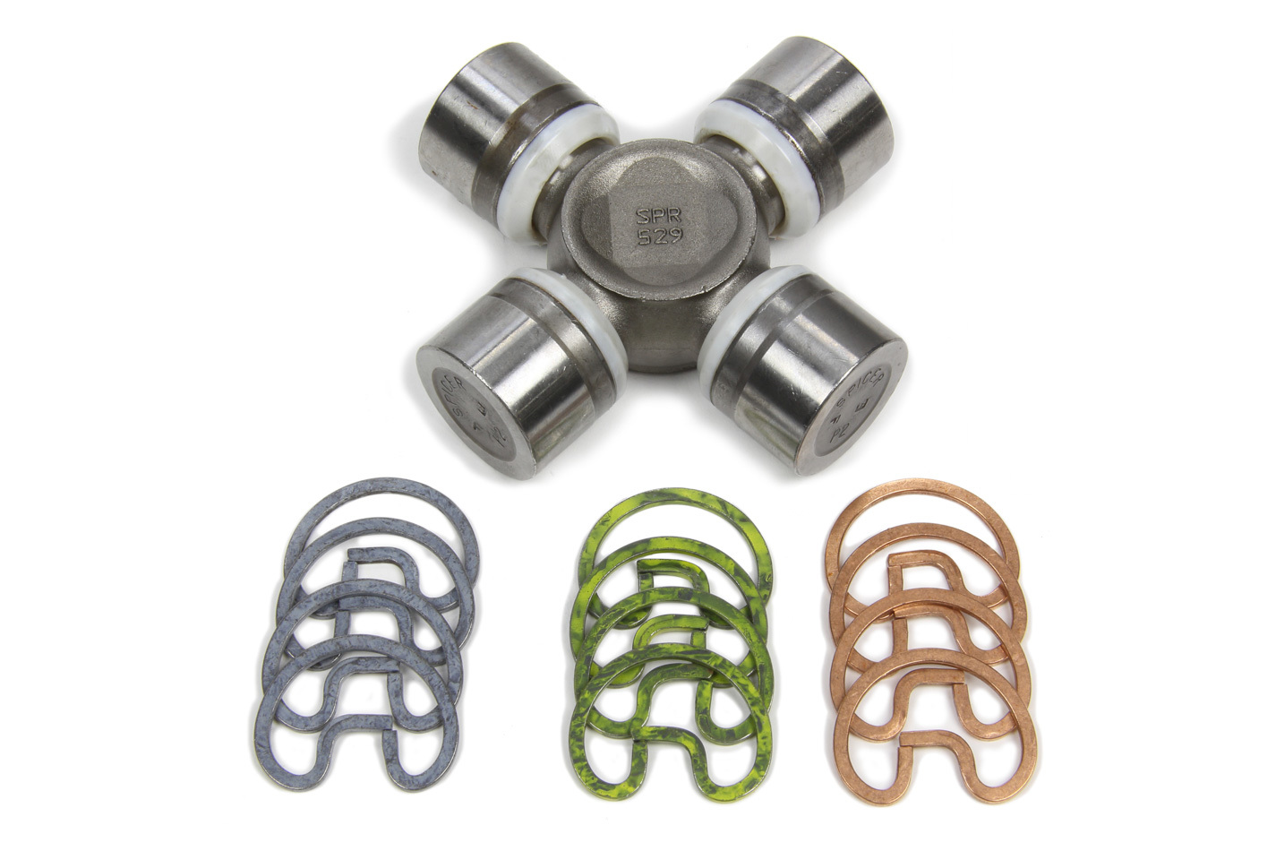 Ti22 Performance 4737 Universal Joint, 1310 Series, 3-1/4 in Across, 1-1/16 in Cap, Clips Included, Natural, Each