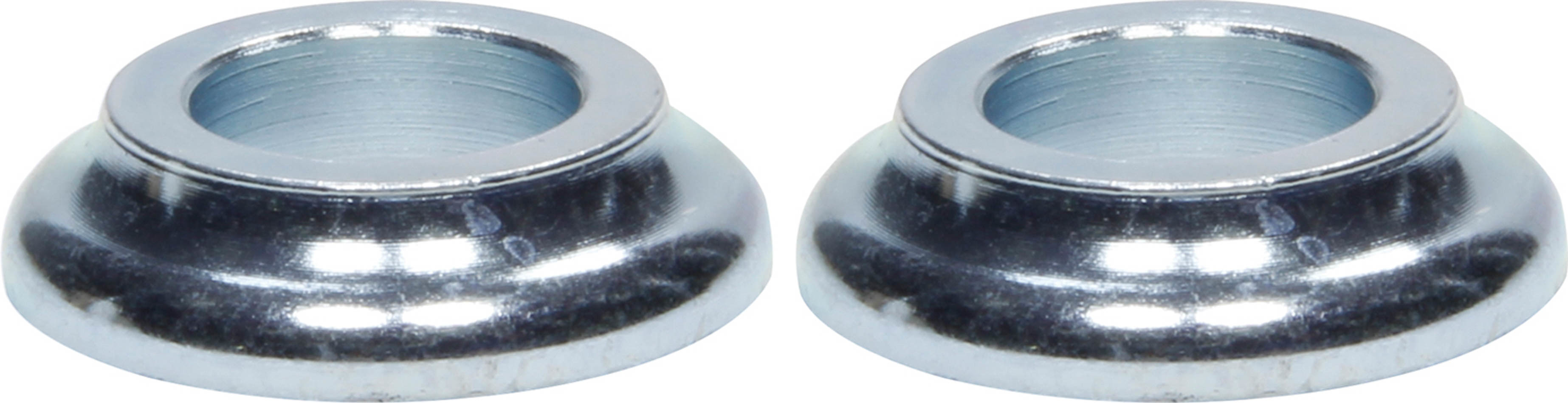 Ti22 Performance 8210 Tapered Spacer, 1/2 in ID, 1/4 in Thick, Steel, Zinc Oxide, Universal, Pair