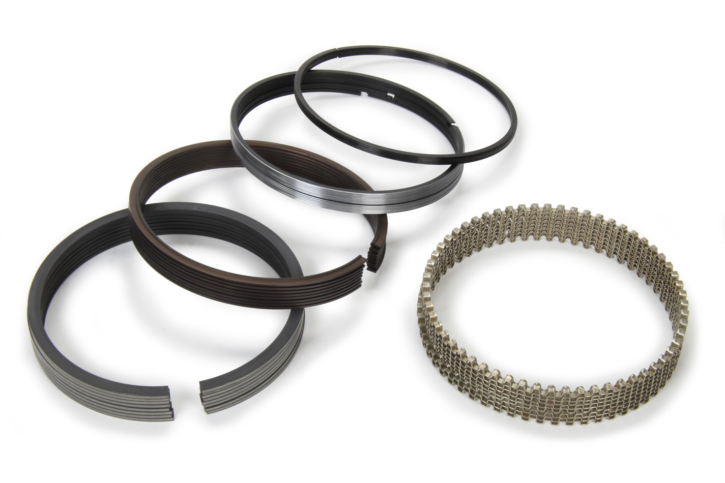 Total Seal CL6264-20 Piston Rings, Claimer, 4.020 in Bore, 2.0 x 1.5 x 4.0 mm Thick, Low Tension, Plasma Moly, 8 Cylinder, Kit