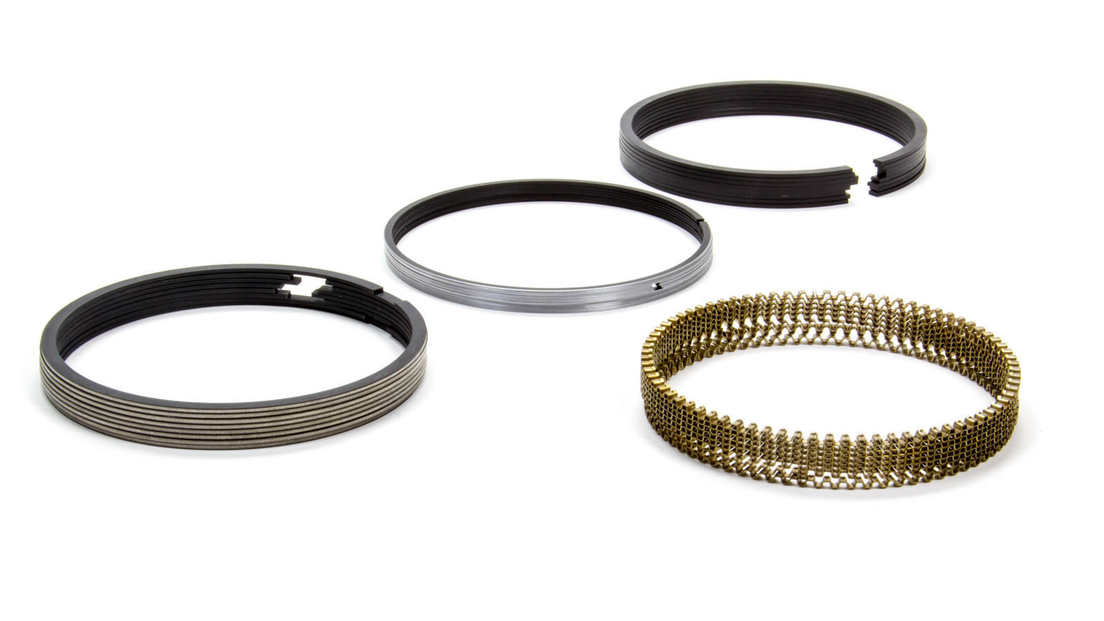 Total Seal CR0690-5 Piston Rings, Classic Race, 4.125 in Bore, File Fit, 1/16 x 1/16 x 3/16 in Thick, Standard Tension, Ductile Iron, 8 Cylinder, Kit