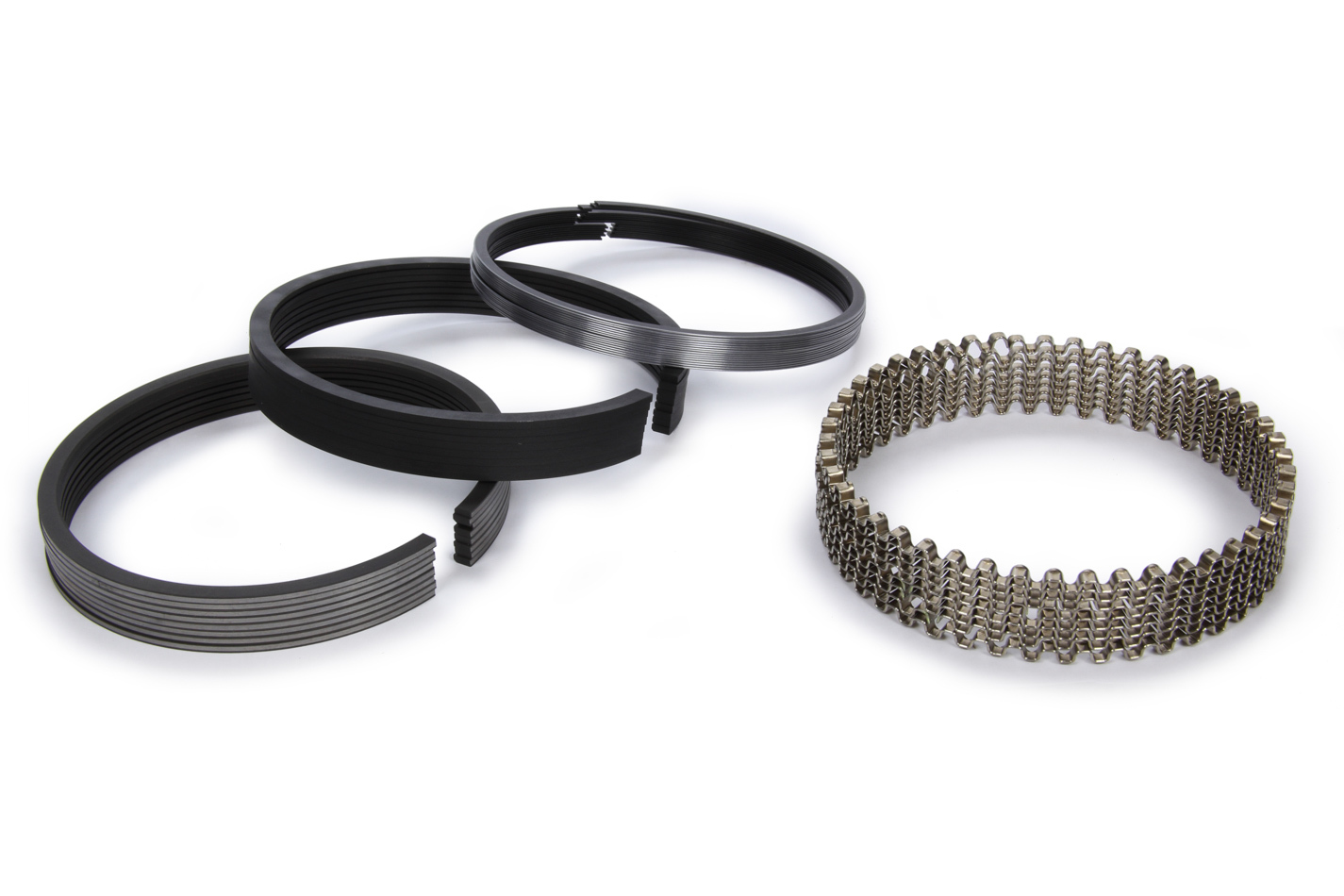 1.2 x 1.2 x 3.0 mm Thick Stainless Steel Kit Piston Rings 8 Cylinder Standard Tension 4.035 in Bore
