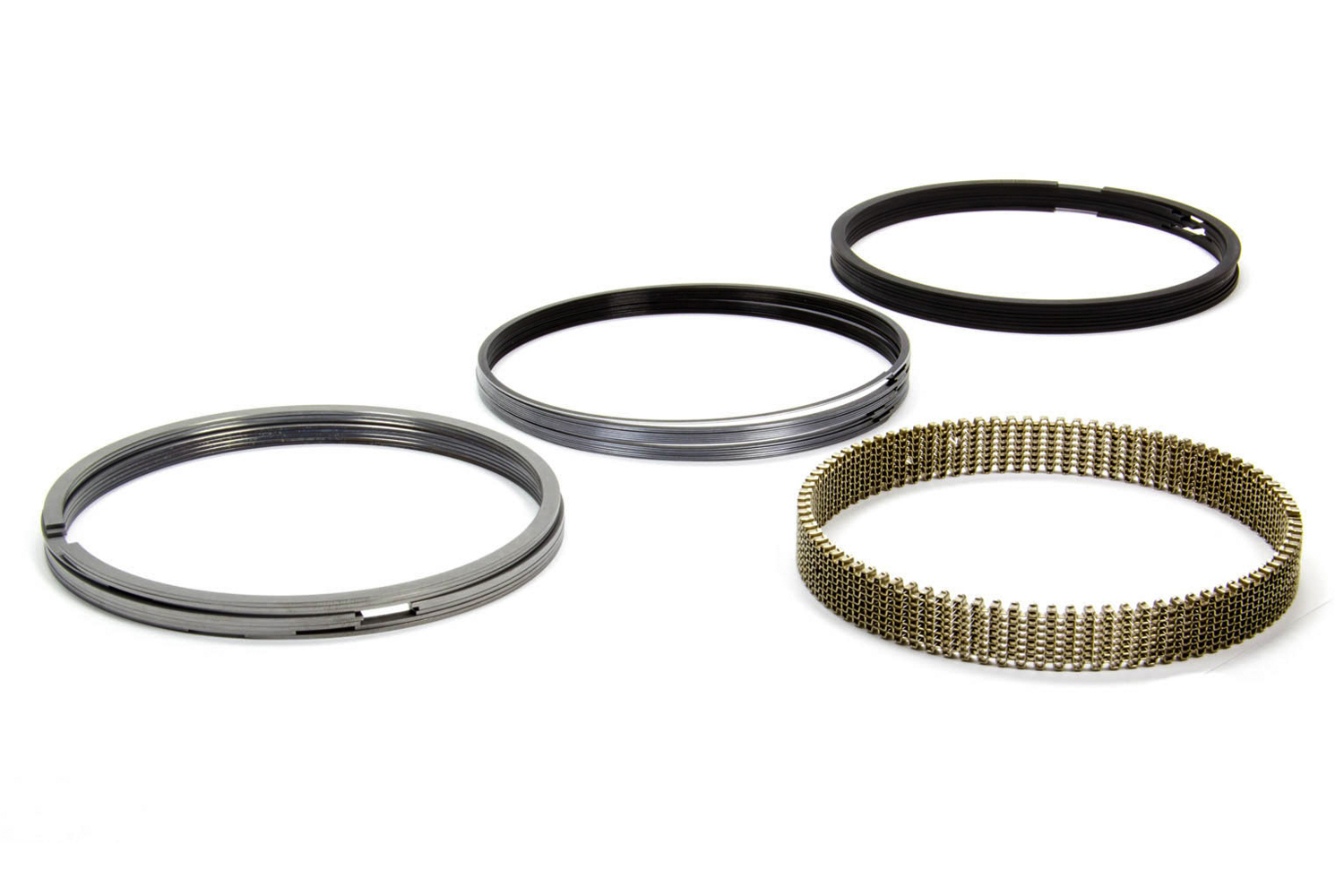 Total Seal CS2012-5 Piston Rings, 4.130 in Bore, 1.5 x 1.5 x 3.0 in Thick, Standard Tension, 8-Cylinder, Kit