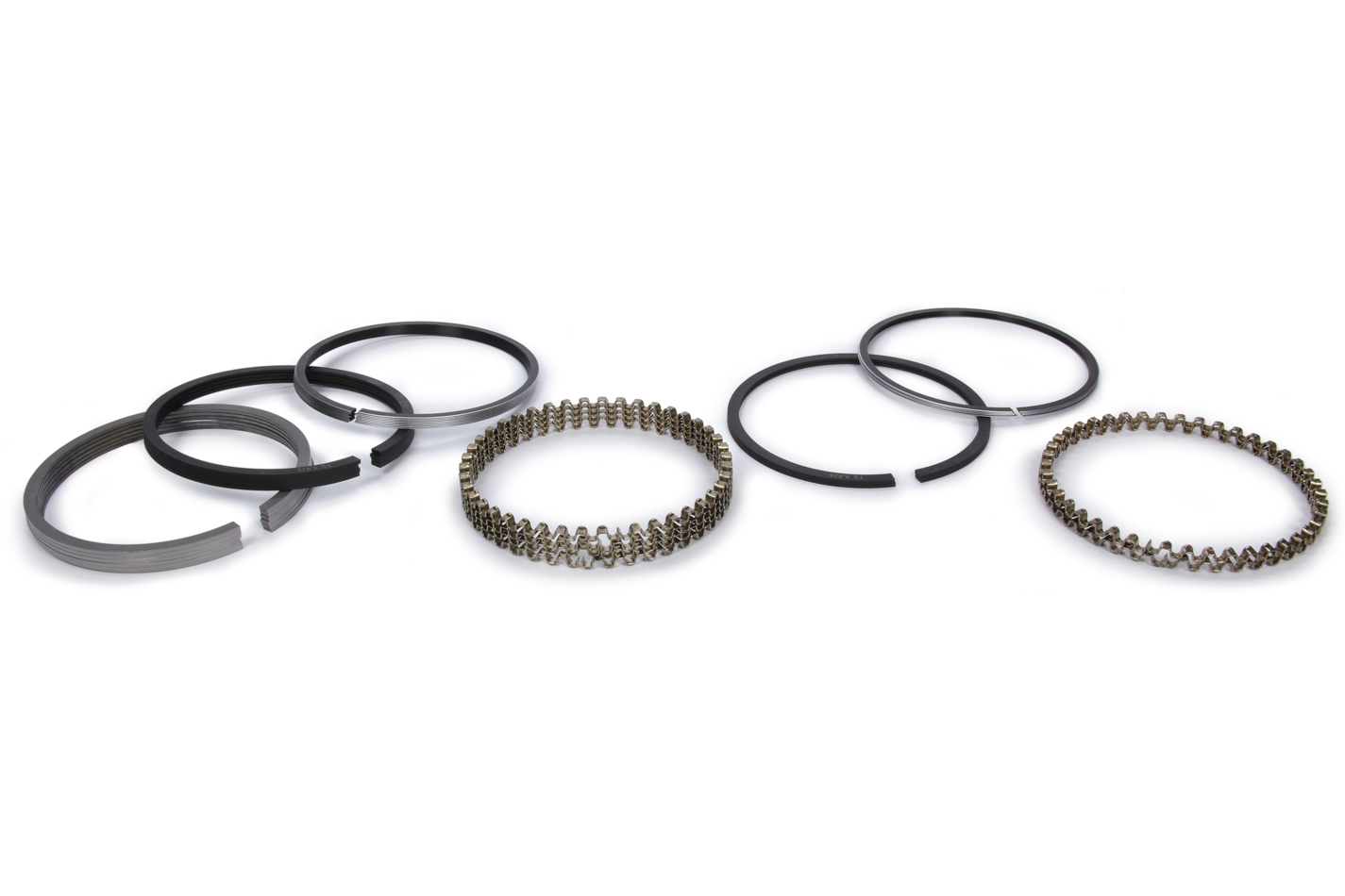 Total Seal CS5899-25 Piston Rings, Classic Race, 3.820 in Bore, File Fit, 1/16 x 1/16 x 3/16 in Thick, Low Tension, Iron, 6 Cylinder, Kit