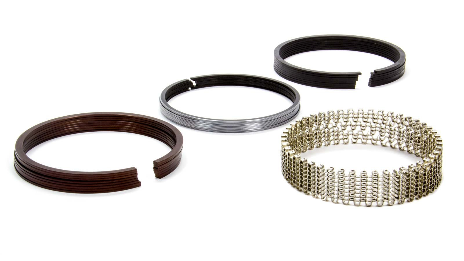 Total Seal CT0690-5 Piston Rings, TNT, 4.125 in Bore, File Fit, 1/16 x 1/16 x 3/16 in Thick, Standard Tension, Ductile Iron, 8 Cylinder, Kit