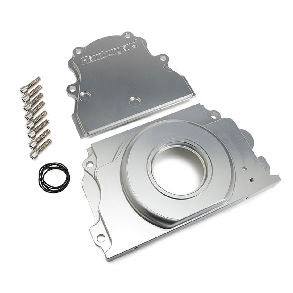 Timing Cover 2pc Billet LS Engines