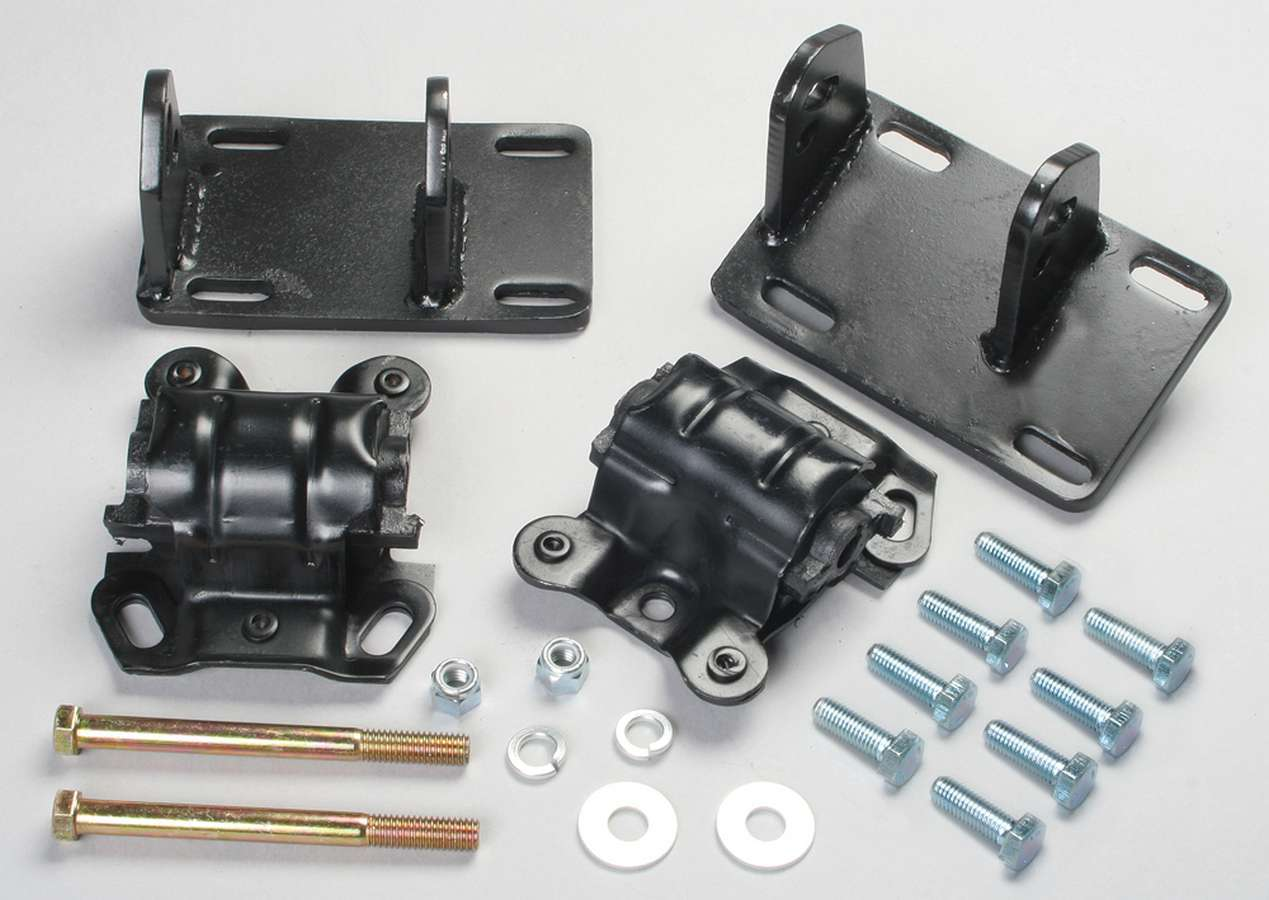Trans Dapt 4516 Motor Mount, Bolt-On, Steel, GM Compact Truck 4.3 L 2WD to GM LS-Series, Kit