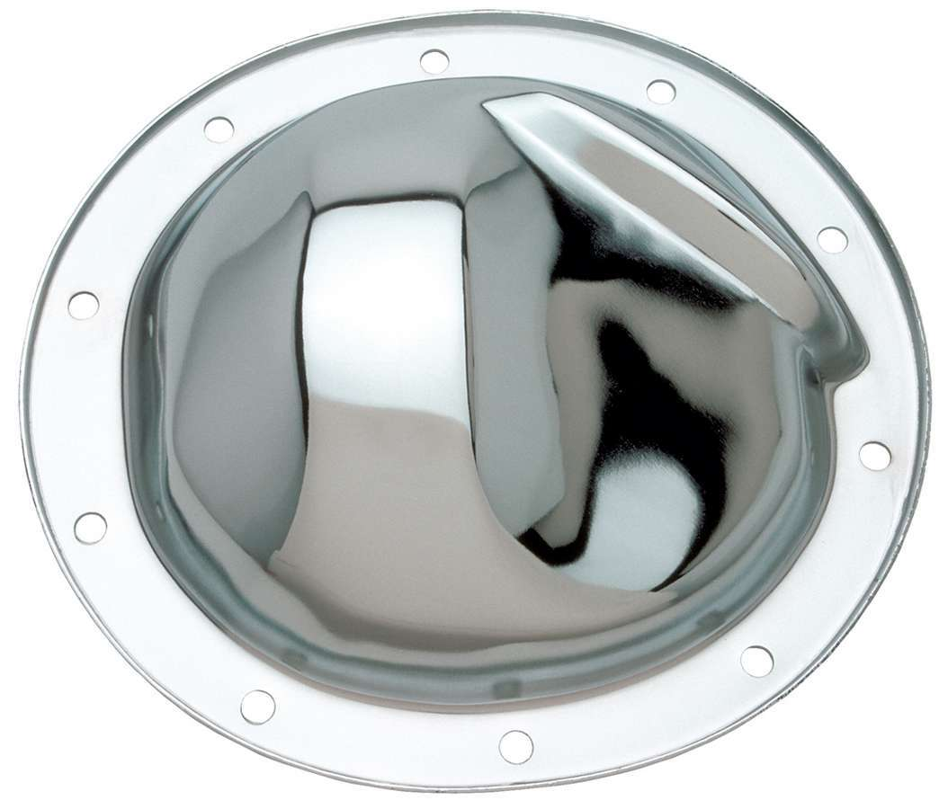 Trans Dapt 4786 Differential Cover, Steel, Chrome, 8.2 in, GM 10-Bolt, Each
