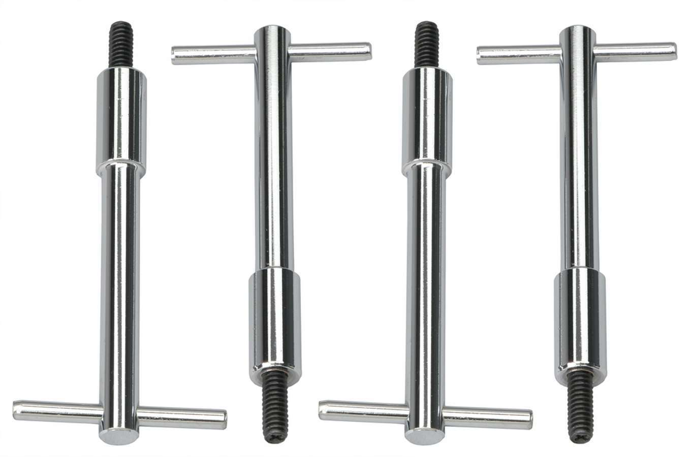 Billet Specialties 95012 Ribbed Style Valve Cover Bolt Pack of 4
