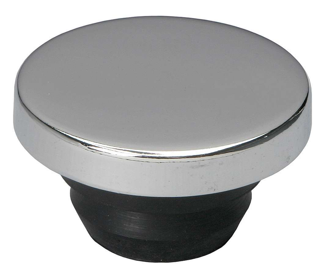Trans Dapt 9170 Oil Fill Cap, Push-On, Round, 1-1/4 in Valve Cover Hole, Steel, Chrome, Each