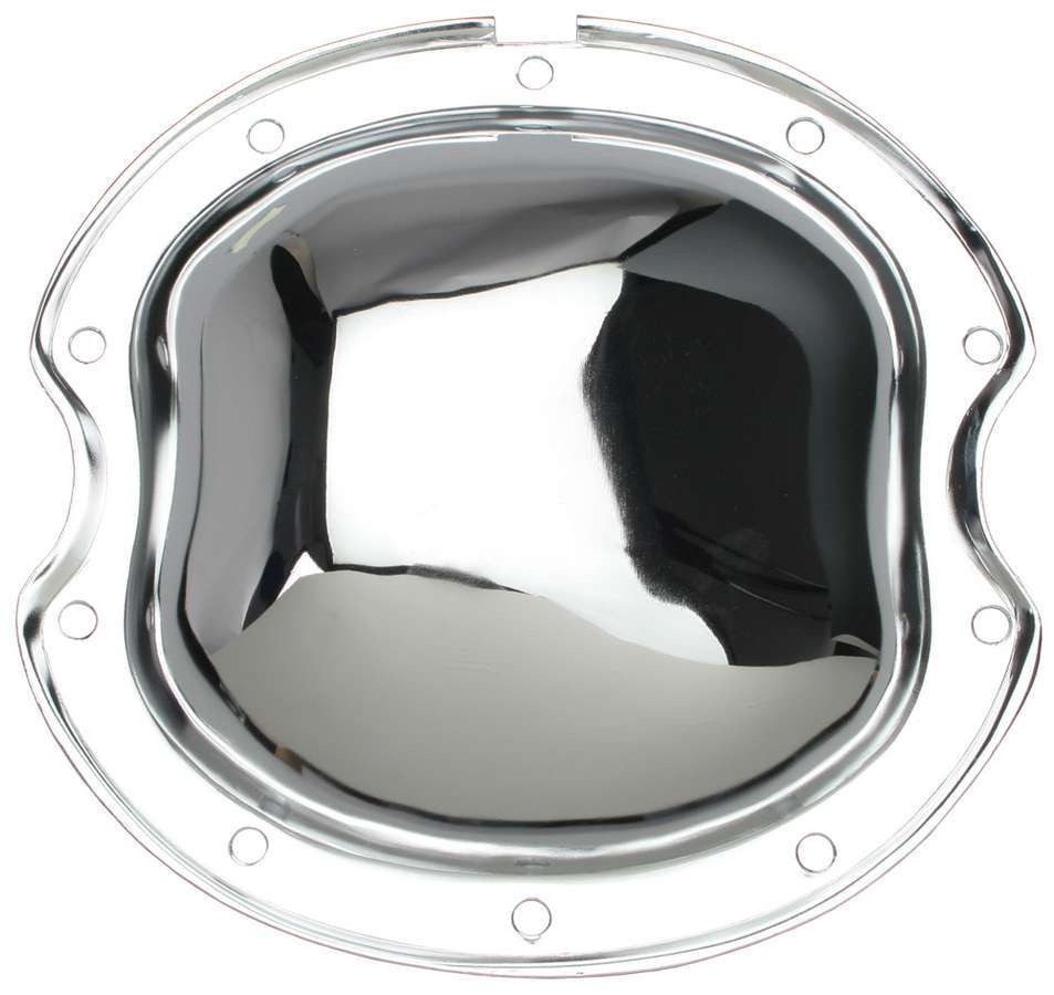 Trans Dapt 9190 Differential Cover, Steel, Chrome, 8.5 in, GM 10-Bolt, Each