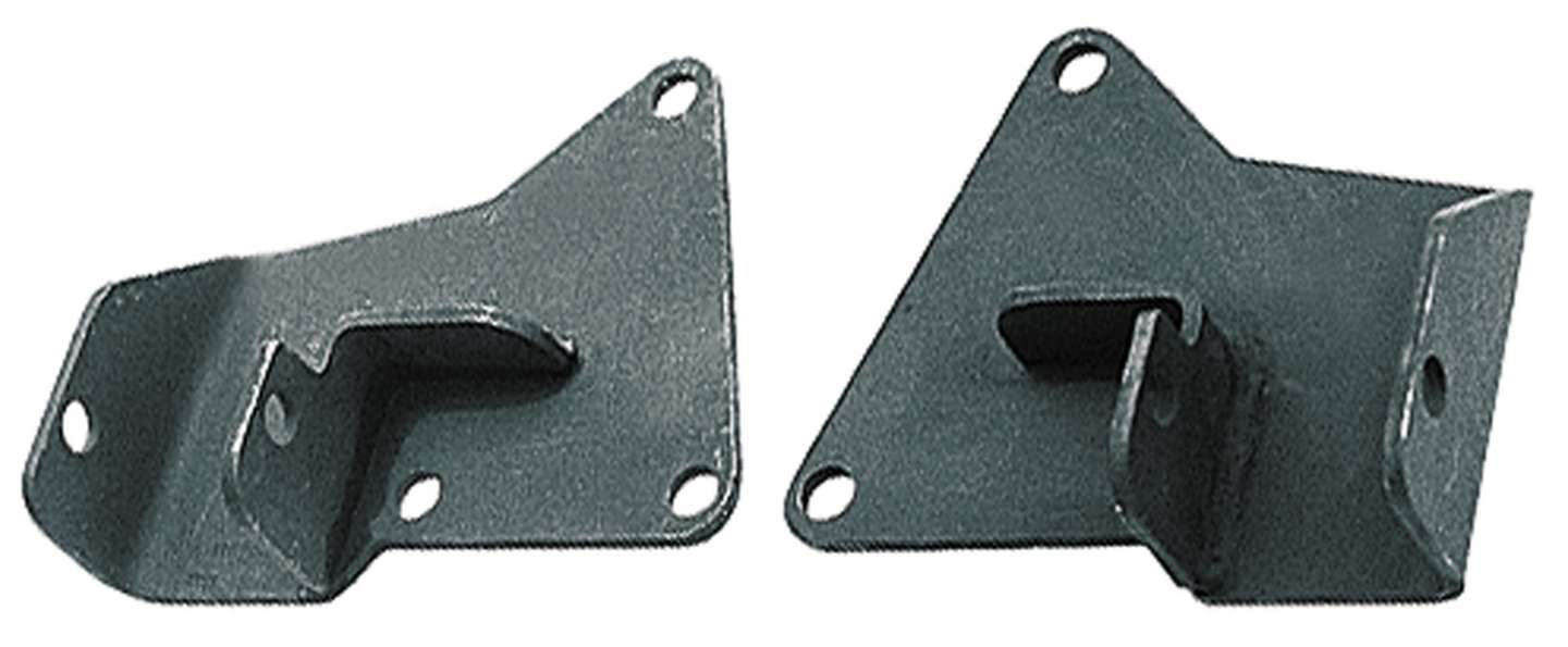 Trans Dapt 9596 Motor Mount, Bolt-On, Steel, GM A-Body 1964-72 to Chevy V8, Pair