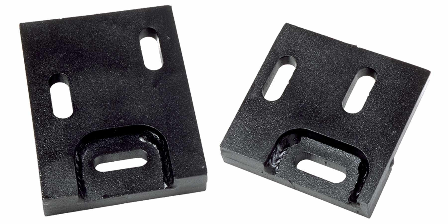 Trans Dapt 9716 Motor Mount, Bolt-On, Steel, Ford Ranger 2WD to Small Block Ford, Pair
