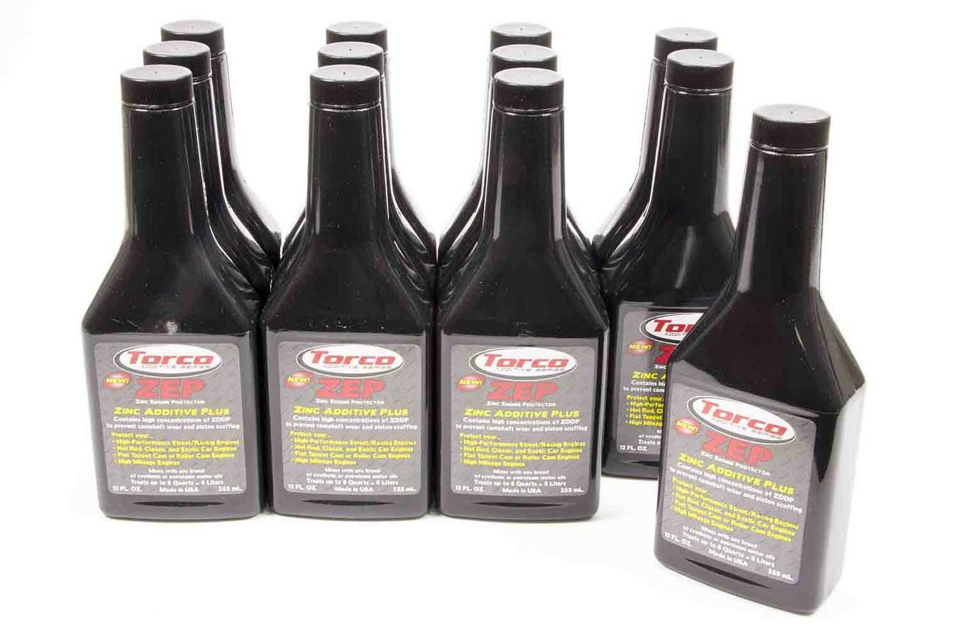 ZEP Oil Additive w/ Zinc Case/12-12oz Bottle