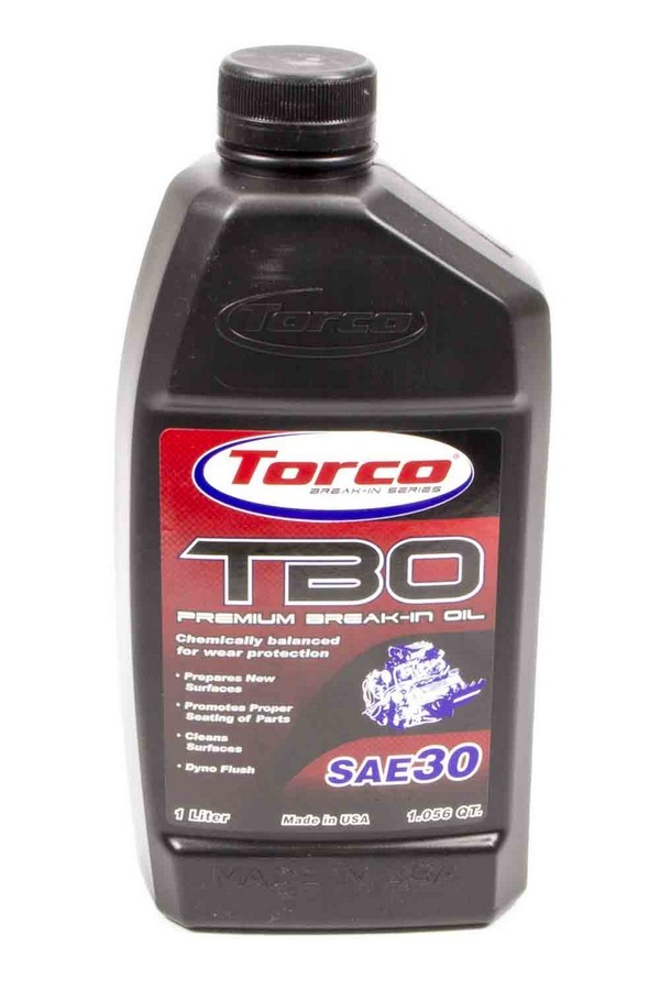 TBO 30W Premium Break-In Oil 1 Liter Bottle