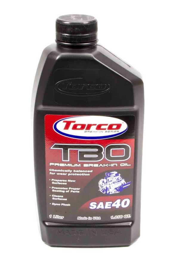 TBO 40W Premium Break-In Oil 1 Liter Bottle
