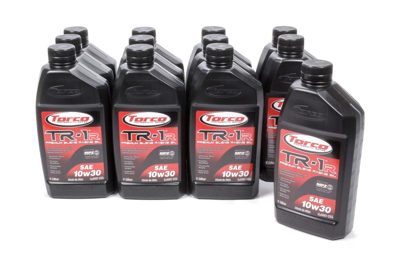 TORCO A141030C TR-1R Racing Oil 10w30 Case 12x1-Liter