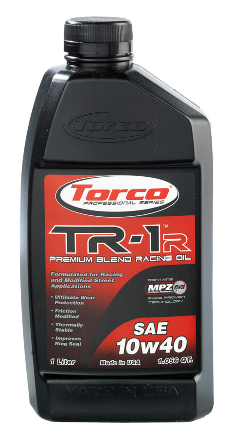 TORCO A141040C TR-1 Racing Oil 10w40 Case/12-1 Liter