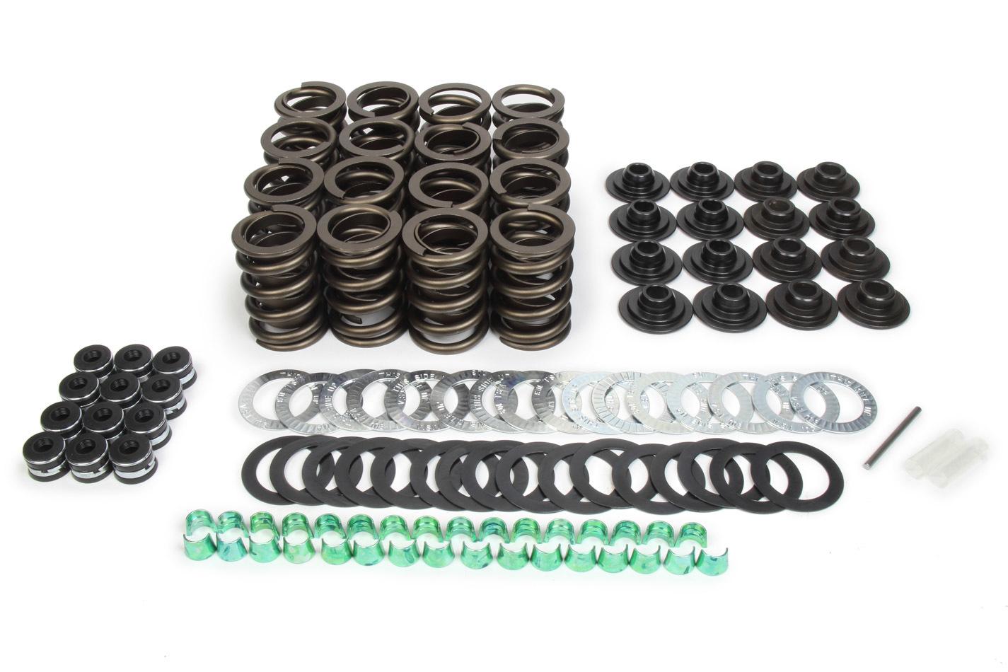 Trick Flow TFS-2500100 Valve Spring Beehive Conversion Kit, Springs / Retainers / Locks, Small Block Ford, Kit