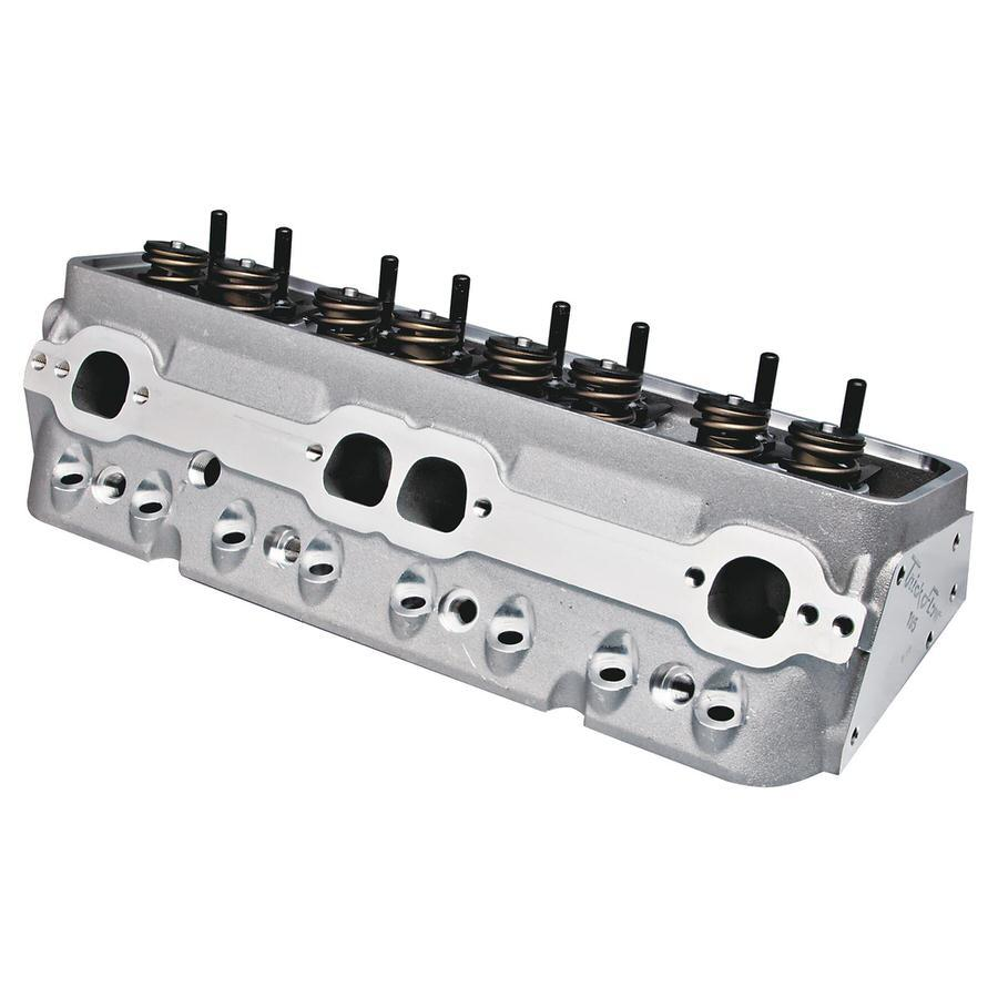 Trick Flow TFS-30410003 Cylinder Head, Super 23, Assembled, 2.020 / 1.600 in Valves, 195 cc Intake, 62 cc Chamber, 1.460 in Springs, Aluminum, Small Block Chevy, Each