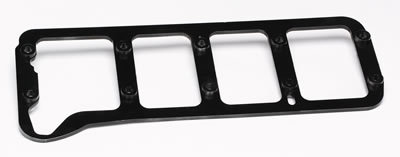 Trick Flow TFS-51500701 Main Cap Girdle, 3/8 in Thick, Hardware Included, Steel, Black Oxide, Small Block Ford, Kit